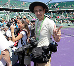 Larry Monaro after the match between Maria Sharapova of Russia vs Victoria Azarenka of Belarus in the Women's Final at Sony Ericsson Open on Key Biscayne, April 2, 2011. .