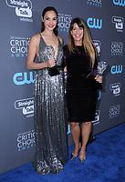 11 January 2018 - Santa Monica, California - Gal Gadot, Patty Jenkins. 23rd Annual Critics' Choice Awards held at Barker Hangar. <br /> CAP/ADM/BT<br /> &copy;BT/ADM/Capital Pictures
