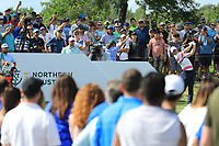 Rory McIlroy (NIR) during the third round of the Northern Trust played at Liberty National Golf Club, Jersey City, USA. 10/08/2019<br /> Picture: Golffile | Phil INGLIS<br /> <br /> All photo usage must carry mandatory copyright credit (© Golffile | Phil Inglis)