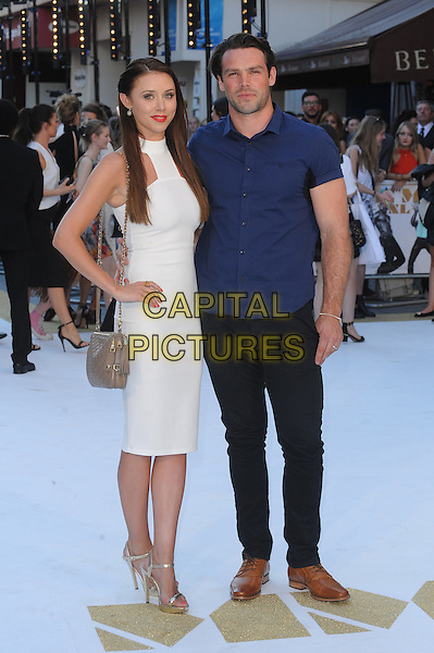 LONDON, ENGLAND - JUNE 30: Una Foden and Ben Foden attend the European Premiere of Magic Mike XXL at Vue West End on June 30, 2015 in London, England.<br /> CAP/BEL<br /> &copy;Tom Belcher/Capital Pictures