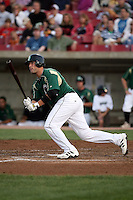 August 15 2008:  Jake Smith of the Kane County Cougars, Class-A affiliate of the Oakland Athletics, during a game at Philip B. Elfstrom Stadium in Geneva, IL.  Photo by:  Mike Janes/Four Seam Images