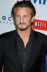 """BEVERLY HILLS, CA. - November 13: Actor Sean Penn arrives at the Los Angeles Premiere of """"Milk"""" at the Academy of Motion Pictures Arts and Sciences on November 13, 2008 in Beverly Hills, California."""