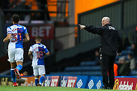 Bradford City manager Simon Grayson during the Sky Bet League 1 match between Blackburn Rovers and Bradford City at Ewood Park, Blackburn, England on 29 March 2018. Photo by Thomas Gadd.