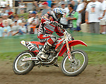 Motocross, MX2 WM 2004, Weltmeisterschaft, Grand Prix of Europe, Gaildorf (Germany) Kristof Salaets (BEL), Honda