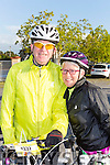 Liam and Maria Gowan at the Pieta House cycle in Rathmore on Sunday