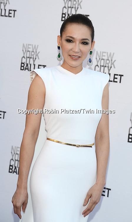 Cindy Chao attend the New York City Ballet's 3rd Annual  Fall Fashion Gala on September 23, 2014 at David Koch Theatre in Lincoln Center in New York City. <br /> <br /> photo by Robin Platzer/Twin Images<br />  <br /> phone number 212-935-0770