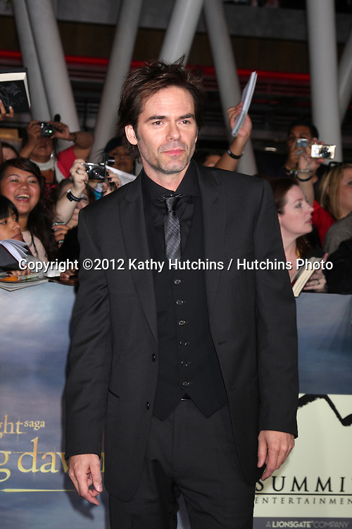 "LOS ANGELES - NOV 12:  Billy Burke arrive to the 'The Twilight Saga: Breaking Dawn - Part 2"" Premiere at Nokia Theater on November 12, 2012 in Los Angeles, CA"