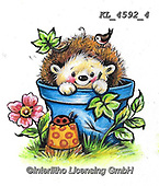 CUTE ANIMALS, LUSTIGE TIERE, ANIMALITOS DIVERTIDOS, paintings+++++,KL4592/4,#ac#, EVERYDAY ,sticker,stickers ,autumn,harvest
