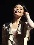 Miranda Cosgrove, star of the Nickelodeon TV series iCarly, performs on her Dancing Crazy Tour Feb. 2011. .Copyright EML/Rockinexposures.com
