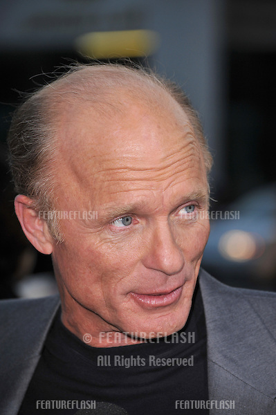 "Ed Harris at the Los Angeles premiere of his new movie ""Appaloosa"" at the Academy Theatre, Beverly Hills..September 17, 2008  Los Angeles, CA.Picture: Paul Smith / Featureflash"