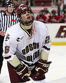 Nick Petrecki (BC - 26) - The Northeastern University Huskies defeated the Boston College Eagles 3-2 in overtime on BC's senior night, Friday, March 7, 2008, at Conte Form in Chestnut Hill, Massachusetts.