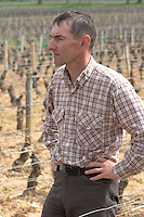 Philippe Bernard, owner winemaker clos st louis fixin cote de nuits burgundy france