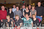Xmas Time - Having a great time at the Tralee Golf Club Christmas Party which took place in The Ballyroe Heights Hotel on Friday night were seated l/r Maggie Fitzgerald, Mary Browne, Peggy Geary and Mary O'Halloran, standing l/r J.J. Young, Bernie Sinnott, Padraig Quane, John Walsh, Donal O'Keefe, Marianne Fitzgerald, Piotr Taraszkiariel, Geraldine King and John O'Callaghan..................................................................................................................................................................................................................................................................................... ............