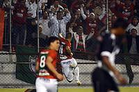 SAO PAULO SP, 11.09.2013 - Portuguesa X Vasco da Gama -  Correa comemora gol da Portuguesa  durante partida contra o Vasco da Gama valida pelo campeonato brasileiro de 2013 no Estadio do Caninde em  Sao Paulo, nesta quarta , 11. (FOTO: ALAN MORICI / BRAZIL PHOTO PRESS).