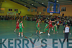 St Marys v Loftus Recycling Ballina in the National Cup semi-final in Castleisland Community Centre on Saturday