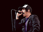 Anthony Kiedis of the Red Hot Chili Peppers performs during the Hangout Music Fest in Gulf Shores, Alabama on May 19, 2012.