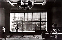 BNPS.co.uk (01202 558833)<br /> Pic: DavidDuggleby/BNPS<br /> <br /> Grand Design - Inside Hitlers Berghof in Berchtesgaden.<br /> <br /> This amazing photo album reveals the close knit alpine community where Hitler and his henchmen worked and played.<br /> <br /> The album was brought back to Britain by a British administrator of the railways in post war Germany and reveals the cosy living arrangements of the high ranking Nazi's of Hitlers Third Reich.<br /> <br /> It shows the homes of Hitler, Martin Boorman and Hermann Goering in tiny Berchtesgaden in Bavaria, and also the infamous Eagles Nest on a mountain top nearby where the evil dictator would dream his dreams whilst taking in the stunning vista.<br /> <br /> The unique album is being sold by David Duggleby auctioneers in Scarborough on the 7th October.