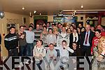 Double 21st Birthday Party: Alan Leen & Shane McAuliffe of Kilflynn celebrating their 21st birthdays with Family & friends at Parker's Bar in Kilflynn on Saturday nighjt last.