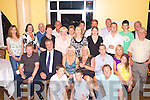 Celebrations: Eileen Cooper, Leedale, Tralee (seated 3rd from left) celebrated her birthday at a reception held in the Parkview Room at the Brandon Hotel, Tralee, on Friday night last, where she partied the night away with family and friends. .