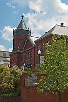 Downtown church Vicksburg Mississippi