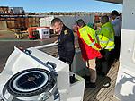 Alex, Captain Of The Ship, Arriving Falkland Islands