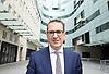 Andrew Marr Show departures<br /> at BBC Broadcasting House, London, Great Britain <br /> 17th July 2016 <br /> <br /> <br /> <br /> <br /> Owen Smith MP<br /> giving TV interviews outside BBC after the Andrew Marr show <br /> <br /> Photograph by Elliott Franks <br /> Image licensed to Elliott Franks Photography Services