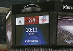 08.09.2017, Mercedes Benz Arena, Berlin, GER, 1.DEL, EISBAEREN BERLIN  VS.  THOMAS SABO ICE TIGERS, im Bild <br /> 2: 4 Endergebnis<br /> <br />      <br /> Foto &copy; nordphoto / Engler