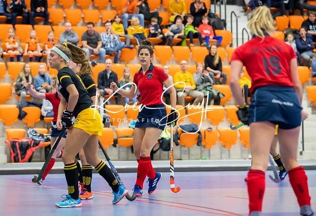 ROTTERDAM  - NK Zaalhockey,   halve finale dames Laren-Den Bosch. Laren wint. Maxime Kerstholt (Lar)    COPYRIGHT KOEN SUYK