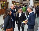 Feb. 15 2014; Junior Parents Weekend events at Jordan Hall of Science.<br /> <br /> Photo by Matt Cashore/University of Notre Dame