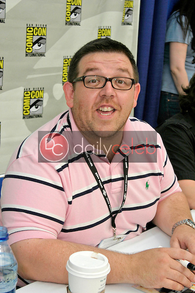 Nick Frost<br /> ComicCon Convention 2007 <br /> San Diego Convention Center<br /> San Diego , CA<br /> July 27, 2007<br /> &copy;2007 Kathy Hutchins / Hutchins Photo