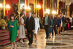 Josep Borrel attends to Sapnish National Day palace reception at the Royal Palace in Madrid, Spain. October 12, 2018. (ALTERPHOTOS/A. Perez Meca)