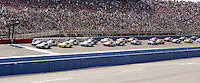March 23, 2013 Fontana, CA: Start of the Royal Purple 300 held at the Auto Club Speedway.