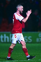 Fleetwood Town's Paddy Madden applauds the fans<br /> <br /> Photographer Richard Martin-Roberts/CameraSport<br /> <br /> The EFL Sky Bet League One - Saturday 15th December 2018 - Fleetwood Town v Burton Albion - Highbury Stadium - Fleetwood<br /> <br /> World Copyright &not;&copy; 2018 CameraSport. All rights reserved. 43 Linden Ave. Countesthorpe. Leicester. England. LE8 5PG - Tel: +44 (0) 116 277 4147 - admin@camerasport.com - www.camerasport.com