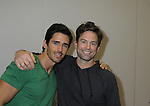Brandon Beemer and Michael Muhney at the Soapstar Spectacular starring actors from OLTL, Y&R, B&B and ex ATWT & GL on November 20, 2010 at the Myrtle Beach Convention Center, Myrtle Beach, South Carolina. (Photo by Sue Coflin/Max Photos)
