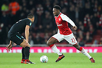 Danny Welbeck of Arsenal takes on Winston Reid of West Ham United during the Carabao Cup Quarter Final match between Arsenal and West Ham United at Emirates Stadium on December 19th 2017 in London, England. <br /> Premier League 2017/2018 <br /> Foto Panoramic / Insidefoto