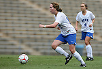 30 August 2009: Duke's Kendall Bradley. The Duke University Blue Devils lost 3-2 to the University of Central Florida Knights at Fetzer Field in Chapel Hill, North Carolina in an NCAA Division I Women's college soccer game.