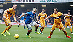 Martyn Waghorn with Craig Clay and Stevie Hammell