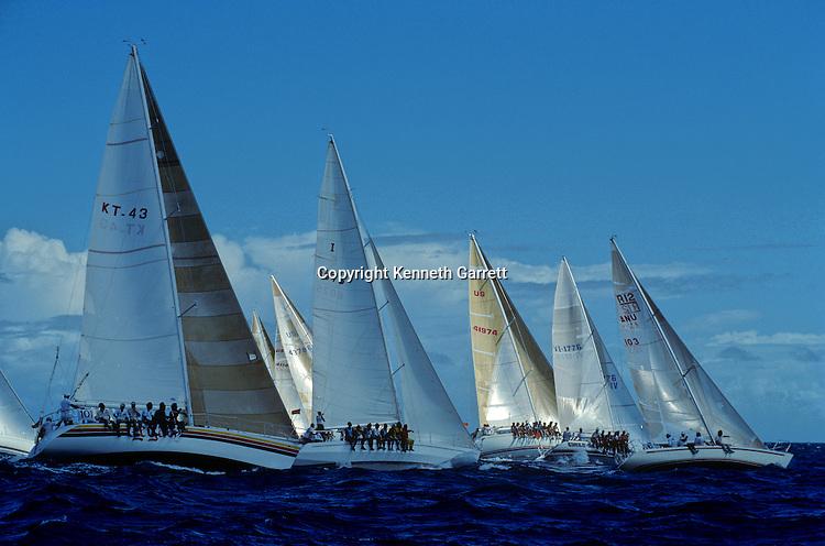 Antigua Race Week; Sailing; Caribbean, boat, crew