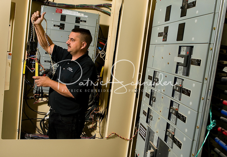 Photography of the sub metering installation at Food Lion Store #2667, in Charlotte, NC.