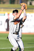 June 11th 2008:  Matt Tucker of the Delmarva Shorebirds, Class-A affiliate of the Baltimore Orioles, during a game at Classic Park in Eastlake, OH.  Photo by:  Mike Janes/Four Seam Images