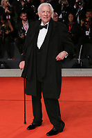 "VENICE, ITALY - SEPTEMBER 07: Donald Sutherland walks the red carpet ahead of the ""The Burnt Orange Heresy"" during the 76th Venice Film Festival at Sala Grande on September 07, 2019 in Venice, Italy. (Photo by Mark Cape/Insidefoto)<br /> Venezia 07/09/2019"