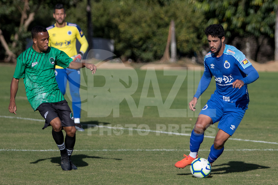 Belo Horizonte (MG) 06/07/2019 –   Léo do Cruzeiro durante jogo treino contra o Inter de Minas de Itaúna, na Toca da Raposa II, na região da Pampulha, em Belo Horizonte, neste sábado, 06. (Foto: Doug Patricio/Brazil Photo Press)