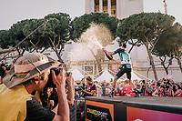 Sam Bennett (IRL/Bora-Hansgrohe) wins the last stage into Rome<br /> <br /> stage 21: Roma - Roma (115km)<br /> 101th Giro d'Italia 2018