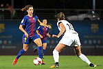 Spanish Women's Football League Iberdrola 2017/18 - Game: 9.<br /> FC Barcelona vs Madrid CFF: 7-0.<br /> Vicky Losada vs Leti.