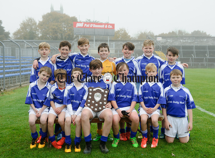 St Senans at the Cumann na mBunscoil Finals at Cusack Park. Photograph by John Kelly.