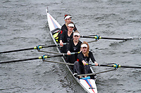 Crew: 334  Godolphin Sch  Event: Girls Fours<br /> <br /> Schools' Head of the River 2017<br /> <br /> To purchase this photo, or to see pricing information for Prints and Downloads, click the blue 'Add to Cart' button at the top-right of the page.