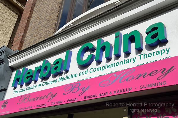 Herbal China chinese medicine shop.