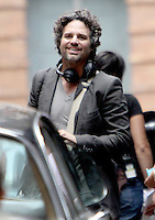 July 23, 2012 Mark Ruffalo shooting on location for new VH-1 movie Can a Song Save Your Life? in New York City.Credit:&copy; RW/MediaPunch Inc. /NortePhoto.com<br />