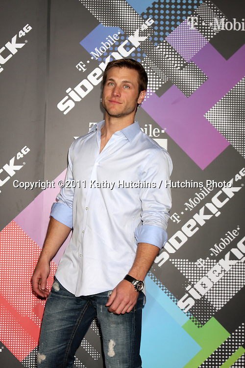 LOS ANGELES - APR 20:  Jake Pavelka arriving at the Launch Of The New T-Mobile Sidekick 4G  at Old Robinson/May Building on April 20, 2011 in Beverly Hills, CA..