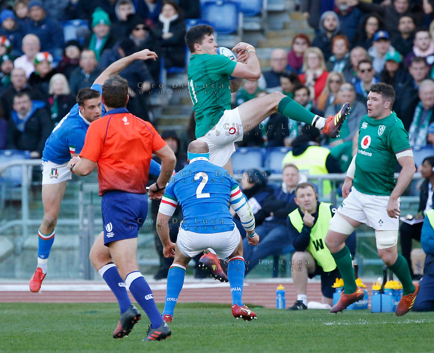 Italy Ireland six nations rugby